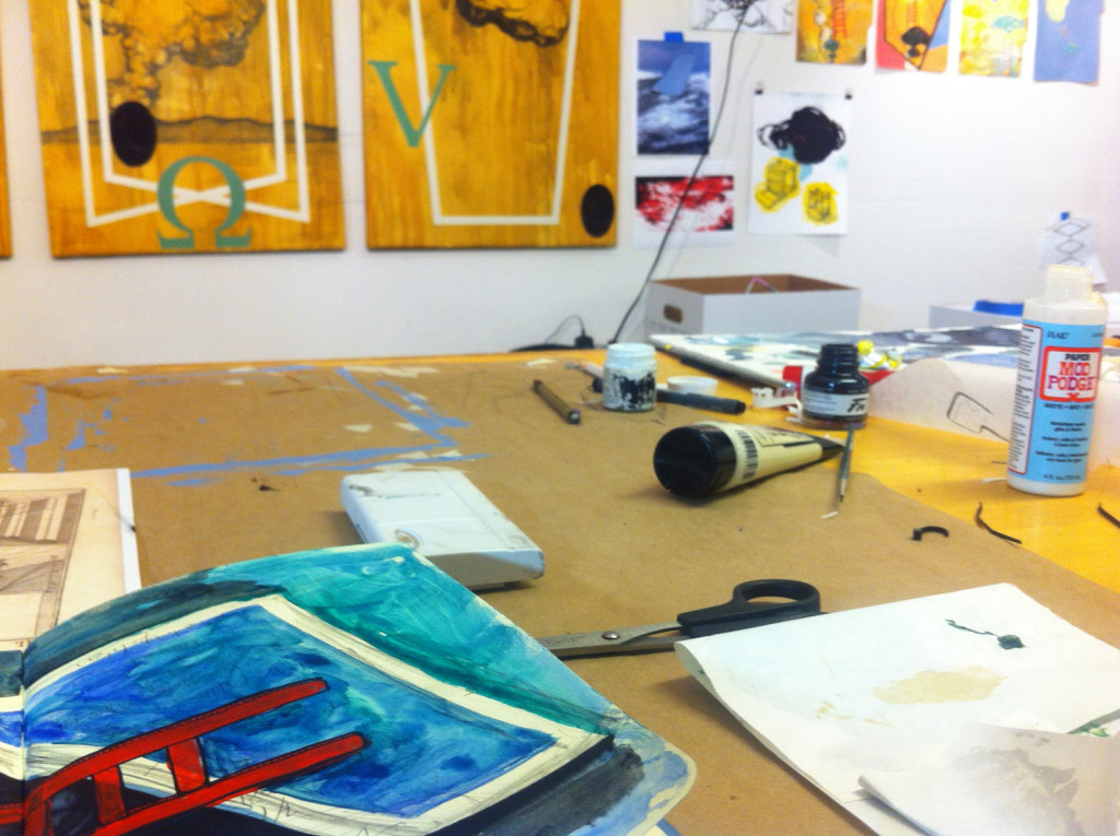 Studio putterings, Nov 2014