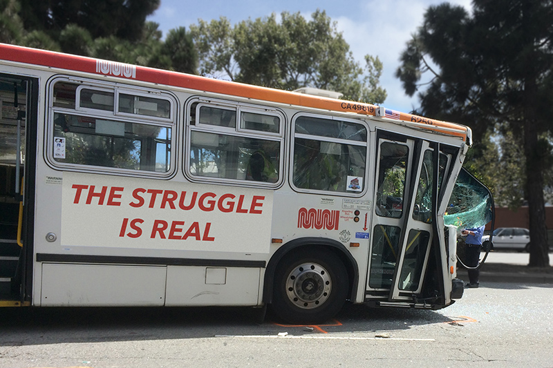 muni struggle bus